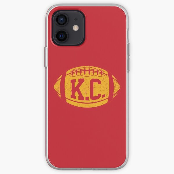 KC Retro Football - Red iPhone Soft Case