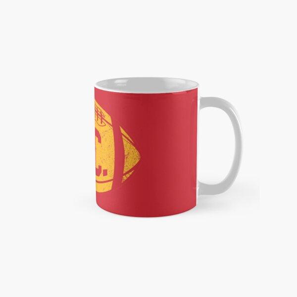 KC Retro Football - Red Classic Mug
