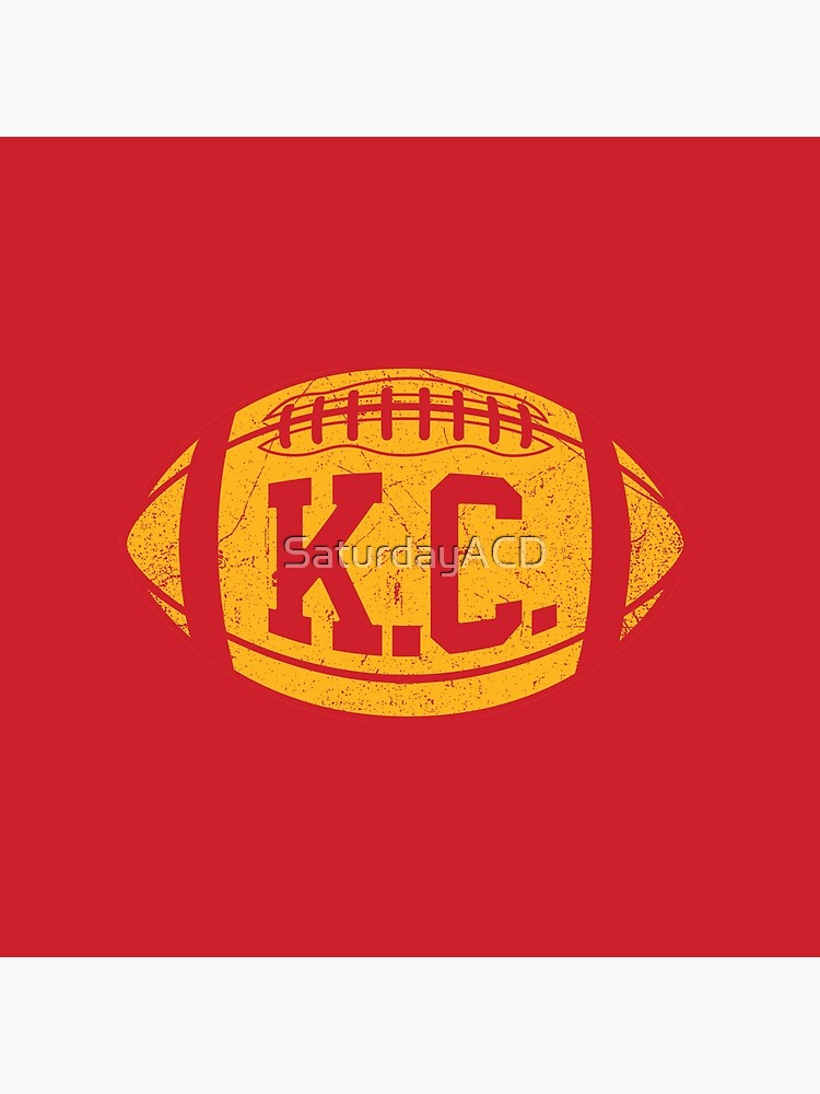 KC Retro Football - Red by SaturdayACD