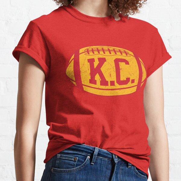 KC Retro Football - Red Classic T-Shirt