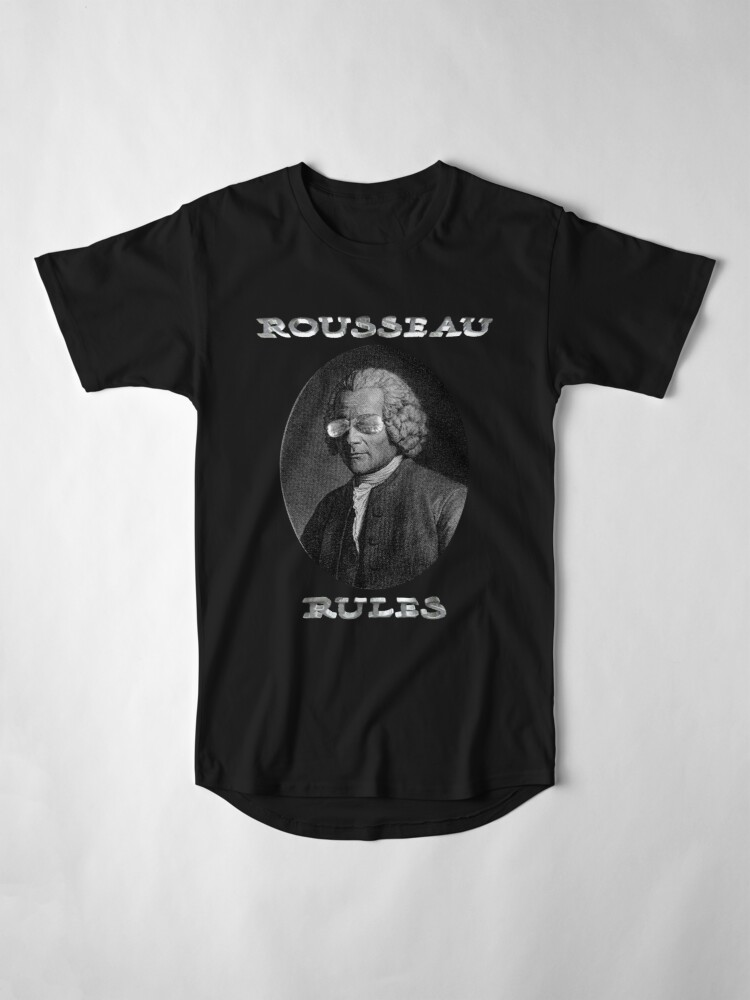 Alternate view of Rousseau Rules Long T-Shirt