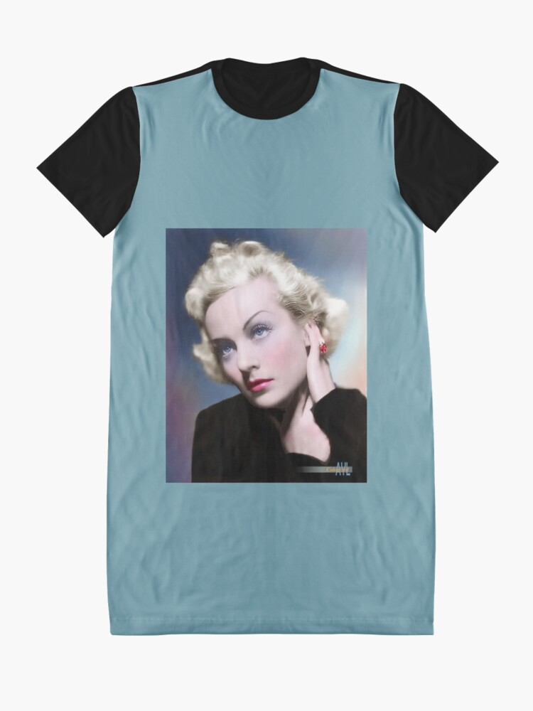 Alternate view of Carole Lombard (1908 - 1942) Graphic T-Shirt Dress