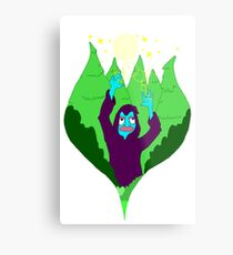 Forest WIzard Metal Print