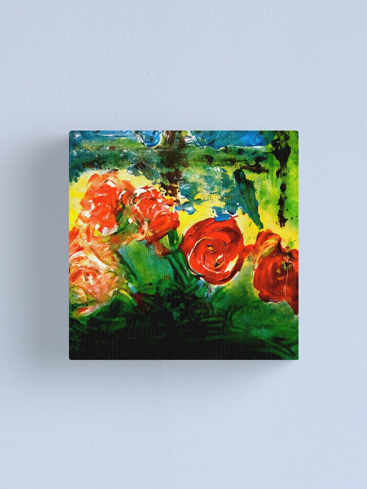 Alternate view of Flowers Canvas Print