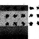 PRINT – Halftone screen 3 by Steve Leadbeater