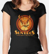 Sun Bros Women's Fitted Scoop T-Shirt