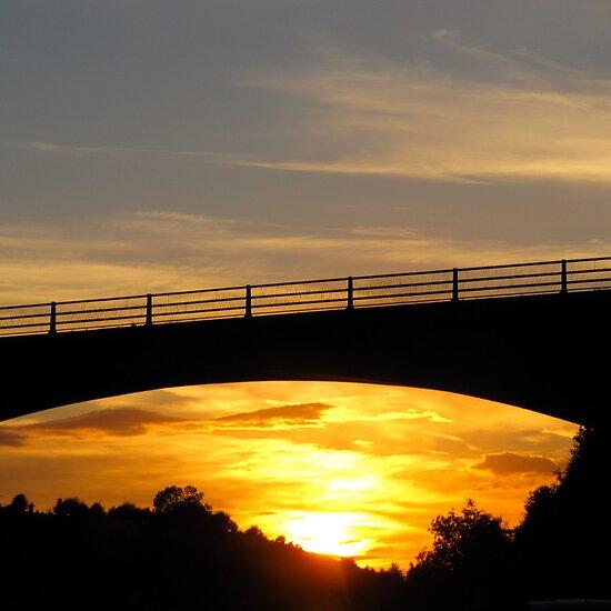 Sunset Bridge by Brian Damage
