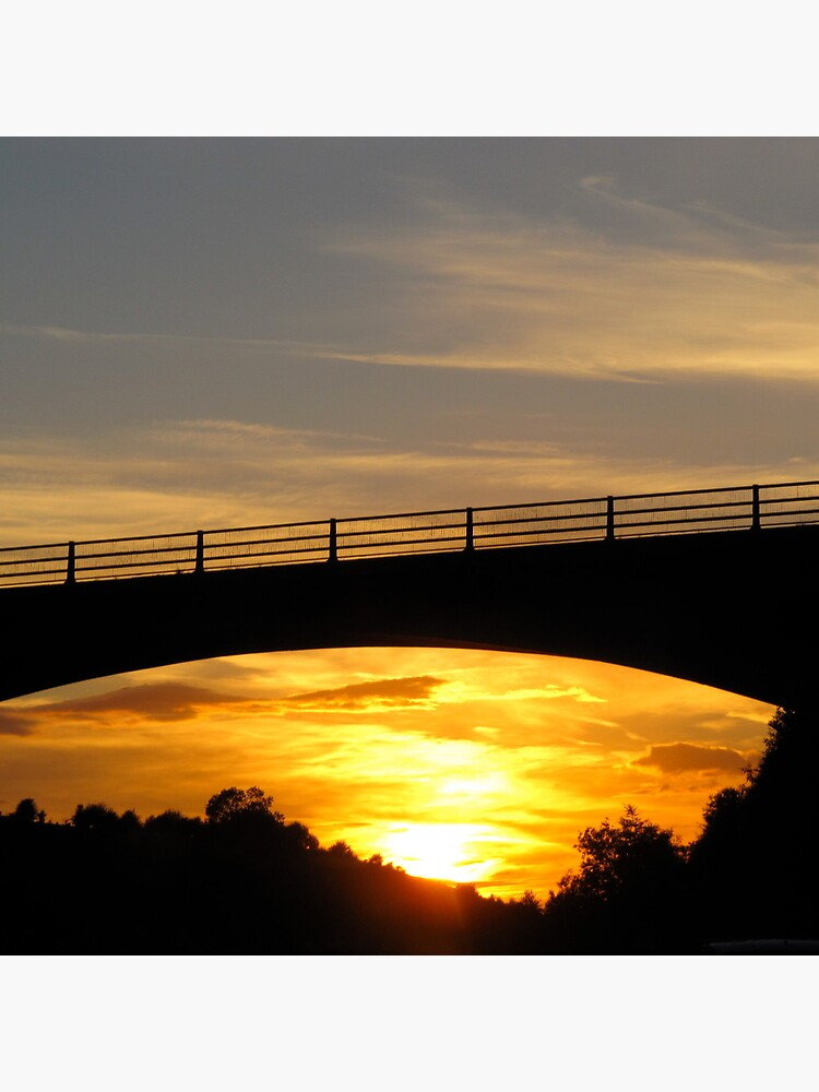 Sunset Bridge by Briandamage