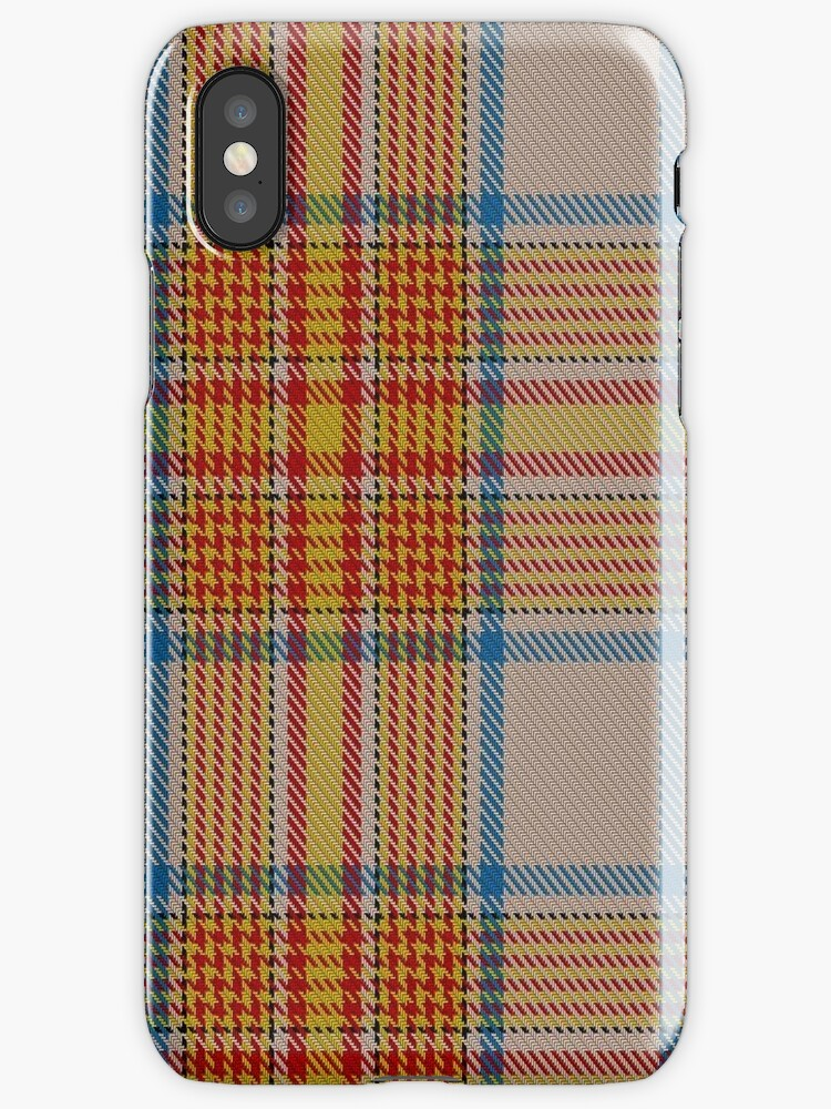 02884 Espana District Tartan  by Detnecs2013