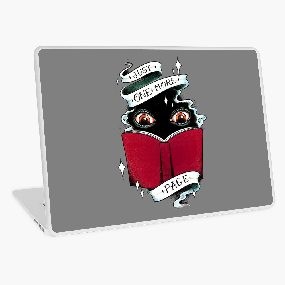 One More Page Laptop Skin