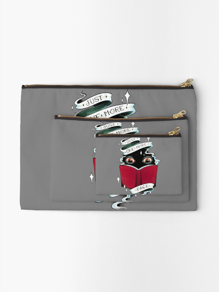 Alternate view of One More Page Zipper Pouch