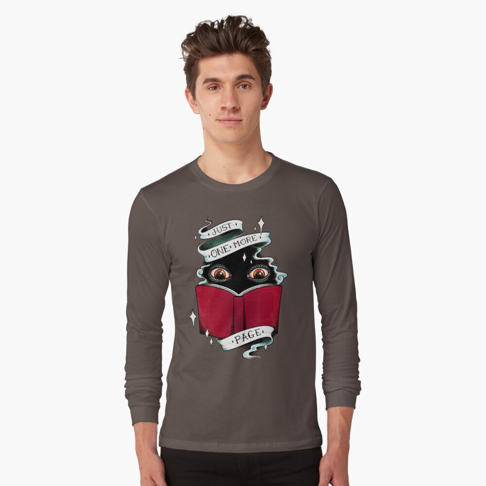 One More Page Long Sleeve T-Shirt