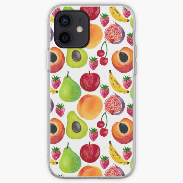 Tropical Fruits iPhone Soft Case