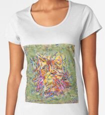 Ninja Cat. Deep Neural Networks #Art Premium Scoop T-Shirt