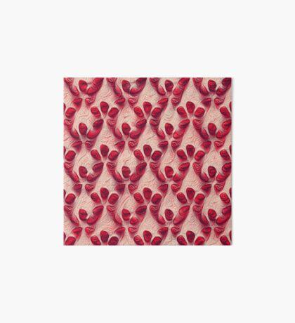Pomegranate seeds #DeepDream Art Board Print