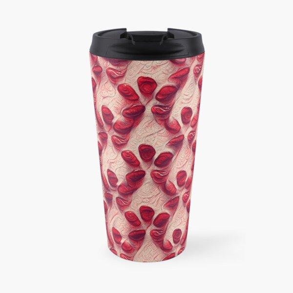 Pomegranate seeds #DeepDream Travel Mug