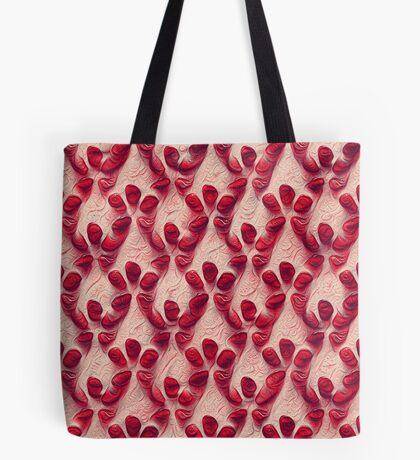Pomegranate seeds #DeepDream Tote Bag