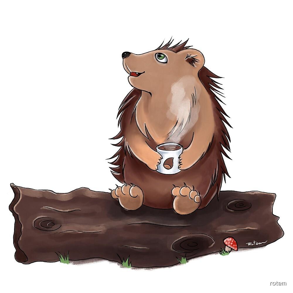 Morning Hedgehog by rotem