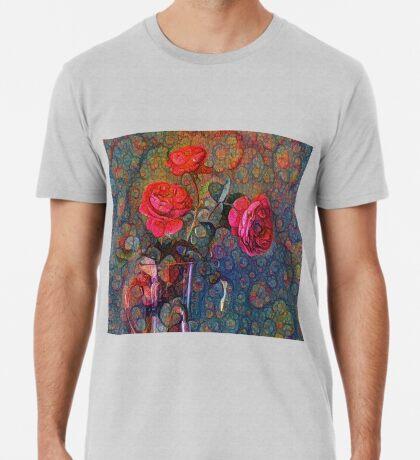 Roses #DeepDreamed Premium T-Shirt