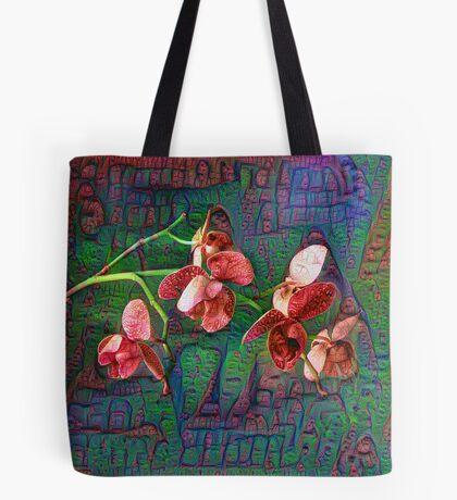 Phalaenopsis A #DeepDream Tote Bag