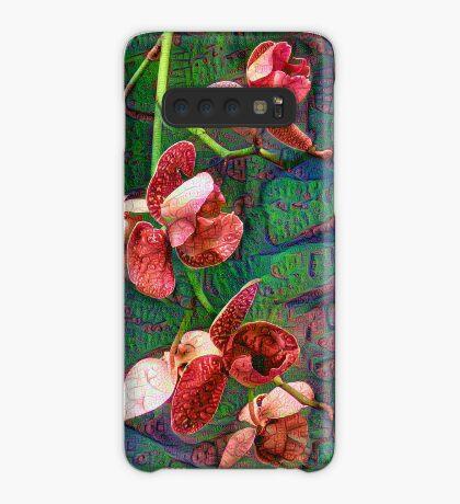 Phalaenopsis A #DeepDream Case/Skin for Samsung Galaxy