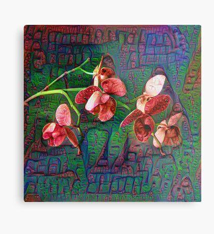 Phalaenopsis A #DeepDream Metal Print