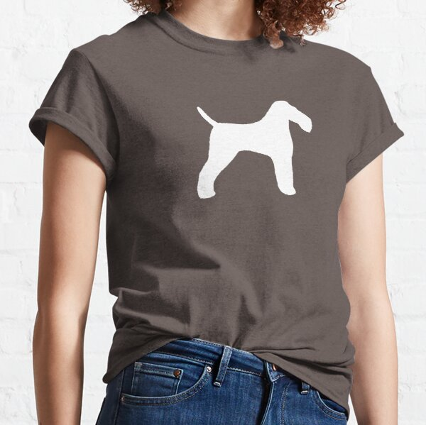 Wire Fox Terrier Silhouette(s) Classic T-Shirt