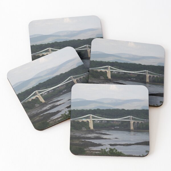 Menai Bridge Coasters (Set of 4)