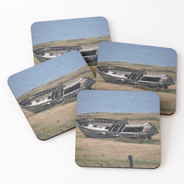Wreck Coasters (Set of 4)