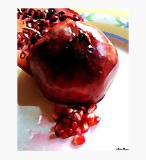 Katherine's Pomegranate Photographic Print