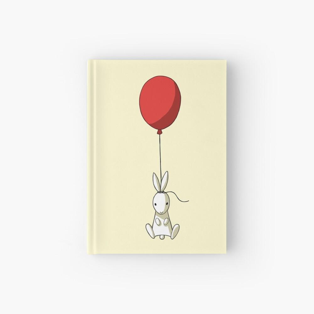 Balloon Bunny Hardcover Journal
