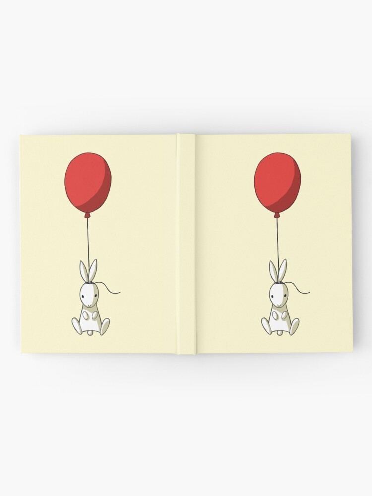 Alternate view of Balloon Bunny Hardcover Journal