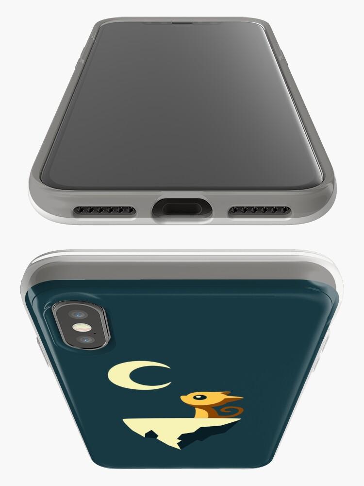 Alternative Ansicht von Mond Katze iPhone-Hülle & Cover