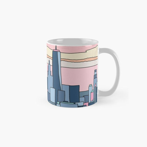 City sunset by Elebea Classic Mug
