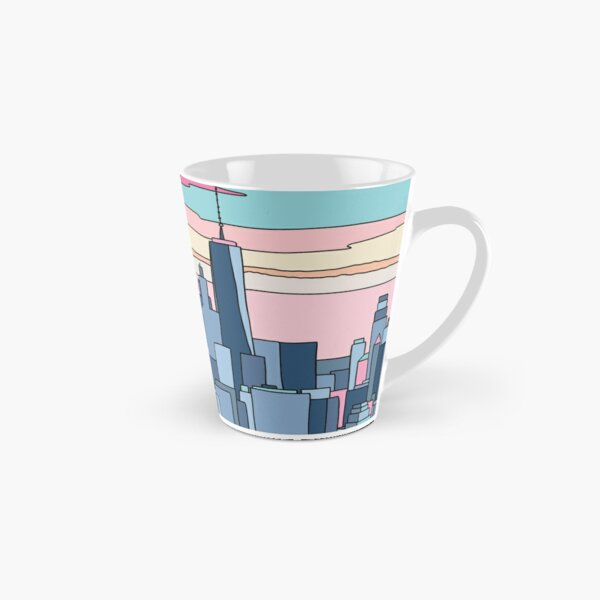 City sunset by Elebea Tall Mug