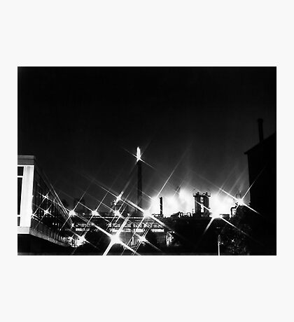 Chemical Plant - Germany, 1979 Photographic Print