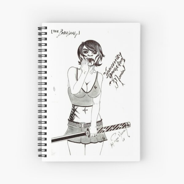 Mamba Spiral Notebook