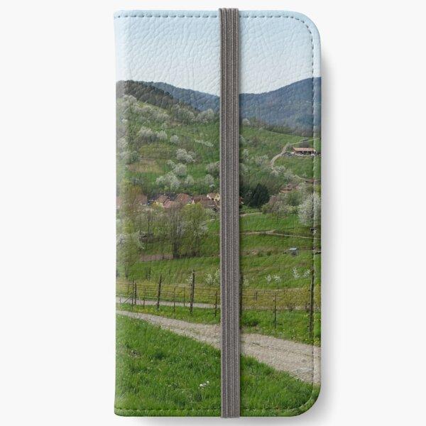 Alsace Étui portefeuille iPhone