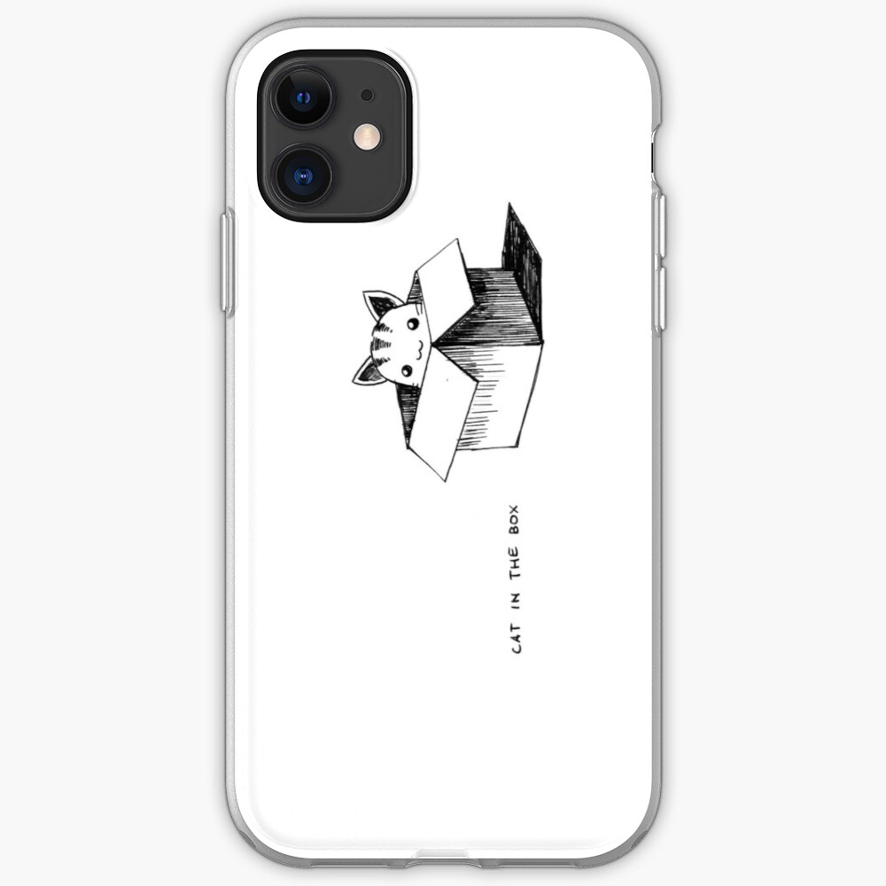 Cat in the box iPhone Case & Cover
