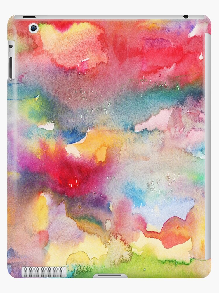 Abstract watercolor background2 by Teni