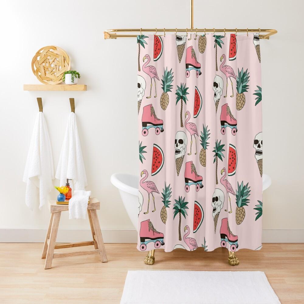 Summer by Elebea Shower Curtain