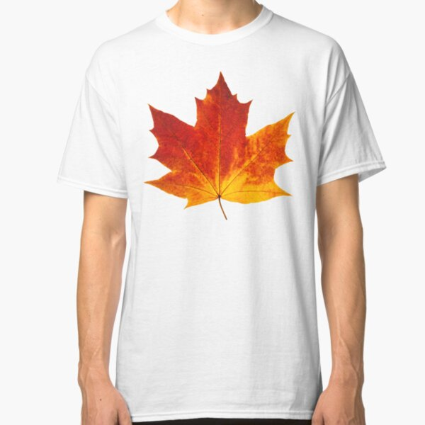 Autumn maple leaf Classic T-Shirt