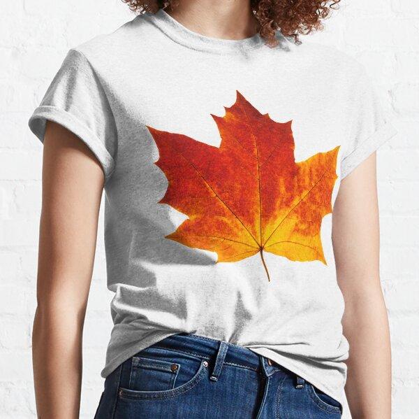 Autumn maple leaf Classic T-Shirt