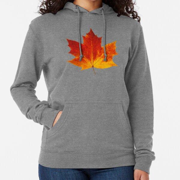 Autumn maple leaf Lightweight Hoodie