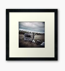 The Dogs Barked Framed Print