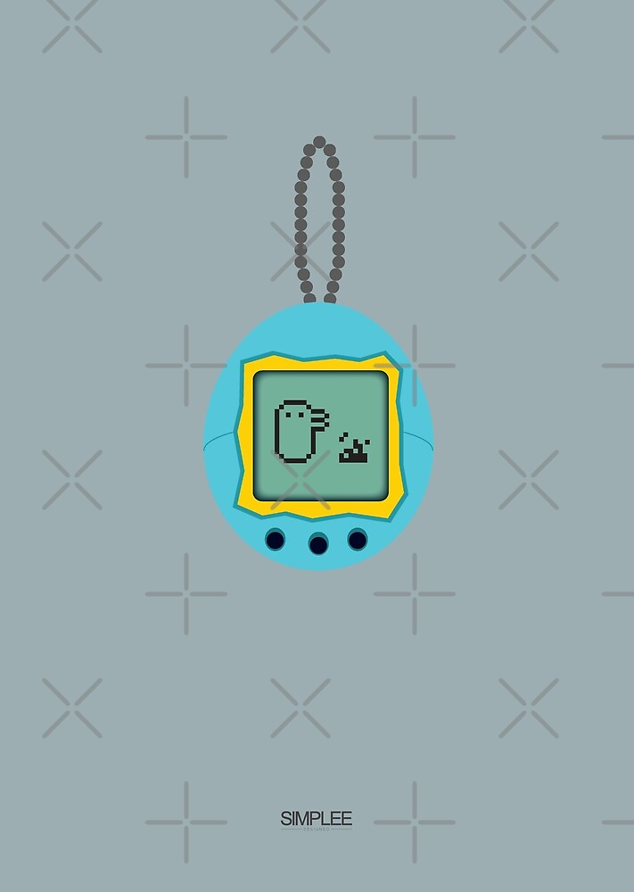 Simplee Cards: Tamagotchi by SimpleeShop