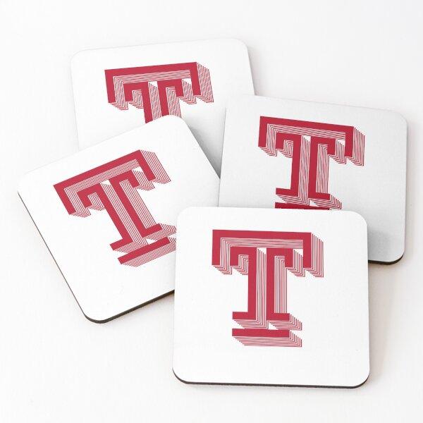Temple University Stack Logo Coasters (Set of 4)