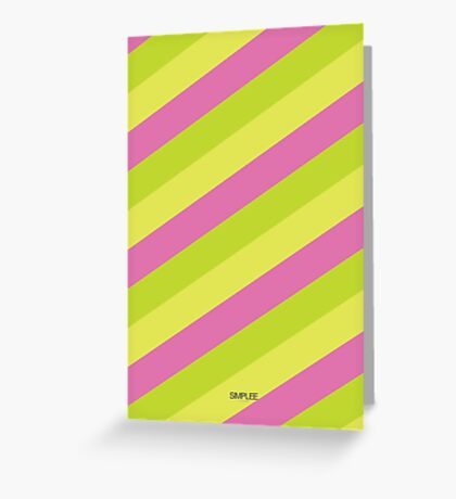 Simplee Cards: Stripes 9 of 9  Greeting Card