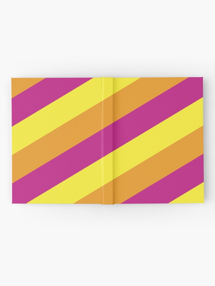 Alternate view of Simplee Stripes: Design 7 of 9 Hardcover Journal