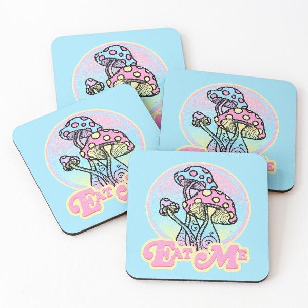 Eat Me Coasters (Set of 4)